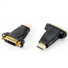 EQUIP ADAPTADOR HDMI/DVI (24+1) M/F PRETO