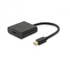 EQUIP ADAPTADOR MINI DISPLAYPORT - HDMI M/F PRETO