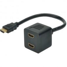 DIGITUS HDMI SPLITTER (Y CABLE) 1.4 FULL HD 3D