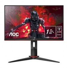 AOC MONITOR 24 (23.8) FHD 1MS 75HZ VGA HDMI DP USB COLUNAS GAMING 24G2U5/BK