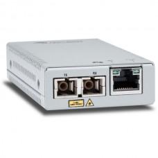 ALLIED TELESIS MINI MEDIA CONVERTER 10/100/1000T TO 1000BASE-SX MM SC CONNECTOR