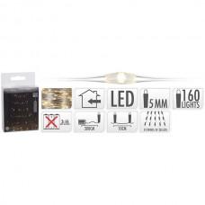 NEDIS S.I.A FIO PRATEADO 160 LEDS