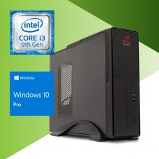 BOX SYSTEMS ENTRY DESKTOP i3-9100 8GB 1TB HDD DVD SLIM/450W W10P#PROMO#