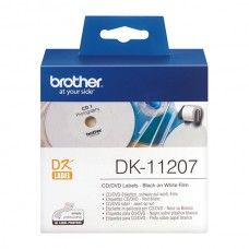 BROTHER ETIQUETAS P/ CD/DVD 58x58 MM