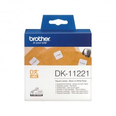 BROTHER ETIQUETAS QUADRADAS PAPEL 23x23 MM