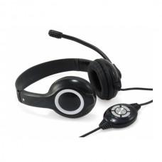CONCEPTRONIC HEADSET STEREO USB C/ MIC BLACK/GREY