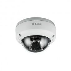 D-LINK CAM IP FHD OUTDOOR POE DOME POE IR 30MT IP66&IK10