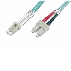 DIGITUS FIBER OPTIC MULTIMODE PATCH CORD OM 3 LC/SC