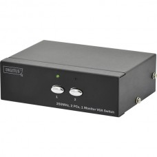 DIGITUS PROFISSIONAL VGA SWITCH 2xPC TO 1xMONITOR(MAX RES. 1920x1080P)