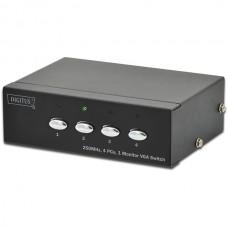 DIGITUS PROFISSIONAL VGA SWITCH 4xPC TO 1xMONITOR(MAX RES. 1920x1080P)