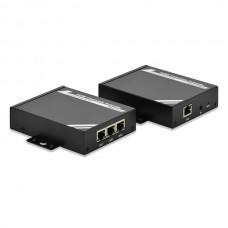 DIGITUS HDMI EXTENDER KIT OVER IP (TRANSMITER E RECEIVER) ATE 100MT