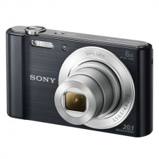 SONY CYBER-SHOT DSC-W810 PRETA 20.1 MP ZOOM OPTICO 6X