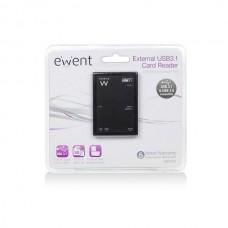 EWENT LEITOR DE CARTOES USB3.0 COM ALIMENTAÇÃO