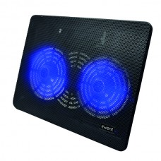 EWENT NOTEBOOK COOLING 17 2 SILENT LED FAN USB