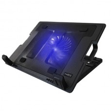 EWENT NOTEBOOK COOLING 17 MULTI-ANGLE STAND 2USB