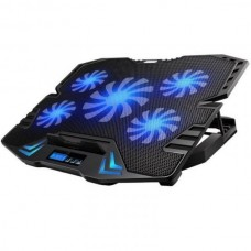 EWENT NOTEBOOK COOLING 17 MULTI-ANGLE STAND 5 LED FANS 2 USB