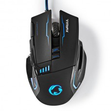 NEDIS GAMING MOUSE WIRED ILLUMINATED 4000 DPI 8 BUTTONS