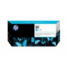 HP CABEÇA DE IMPRESSÃO AZUL Nº 80 + LIMP