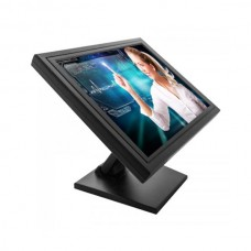 MONITOR 15 LCD TFT 1024X768  PRETO TOUCH 5 WIRES IF USB