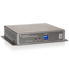 LEVELONE HDMI OVER IP POE RECEIVER (AUDIO & VIDEO EXTENDER)