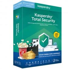 KASPERSKY TOTAL SECURITY 2020 3 USER 1Y + BILHETES CINEMA RETAIL