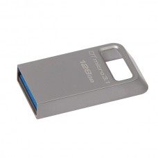 KINGSTON PEN 128GB USB 3.1/3.0 DT MICRO TYPE -A METAL ULTRA COMPACT FLASH