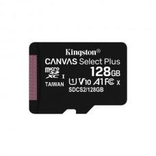 KINGSTON SD 128GB MICRO SDXC 100R A1 C10 CARD C/ADAPT