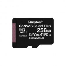 KINGSTON SD 256GB MICRO SDXC 100R A1 C10 CARD C/ADAPT