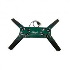 LIFETECH BASE P/ PORTATIL STAND USB FAN GREEN 10 / 15.6