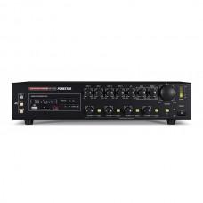 FONESTAR AMPLIFICADOR 4x120W-MAX 100V/8-OHMS 24VCC/230VCA USB/SD/MP3/REC