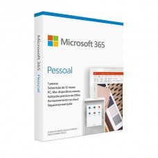 MICROSOFT 365 PERSONAL PT EUROZONE SUBSC 1YR MEDIALESS P6