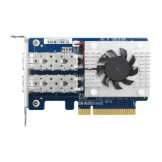 QNAP DUAL-PORT SFP+ 10GBE NETWORK EXPANSION CARD LOW-PROFILE FORM FACTOR PCIE