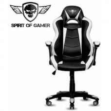 SPIRIT OF GAMER GAMING CADEIRA RACING WHITE