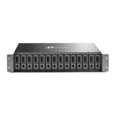 TP-LINK 14-SLOT MEDIA CONVERTER CHASSIS, SUPPORTS REDUNDANT POWER SUPPLY