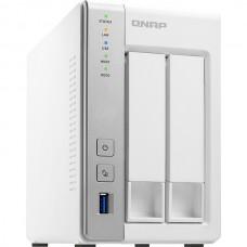 QNAP NAS TORRE 2x2.5/3.5 SATA AL-212 1.7GHz 2CORE 1GB RAM