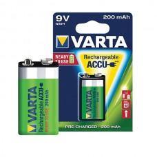 VARTA PILHA RECARREGAVEL 9V-BLOCK 200MAH BLISTER 1 UND