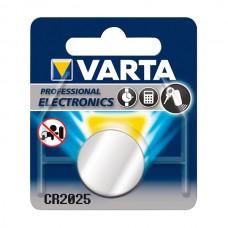 VARTA PILHA PROFISSIONAL CR2025 BLISTER 2 UND