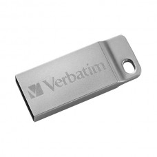 PEN VERBATIM 16GB USB 2.0 STORE N GO METAL EXECUTIVE SILVER *PROMO*
