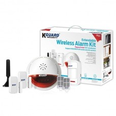 KGUARD KIT ALARM DSH002 WIRELESS 1 SIRENE 2 COMANDOS ON/OFF