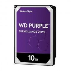 WD HDD 3.5 10TB 7200RPM 256MB SATA III PURPLE