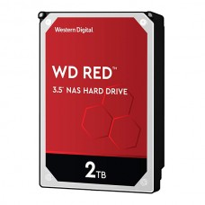 WD HDD 2TB 3.5 256MB CACHE 5400RPM SATA 6GB/S RED