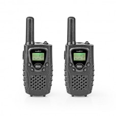 NEDIS WALKIE TALKIE VOX 8 CANAIS 8KM PACK 2 UNID BLACK