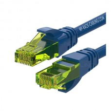 WP RACK CHICOTE PATCH CABLE CAT6 UTP AWG 26/7 BLUE - 1MT