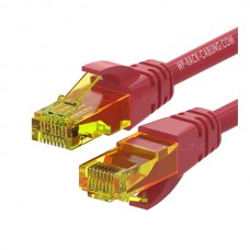 WP RACK CHICOTE PATCH CABLE CAT6 UTP AWG 26/7 RED - 1MT
